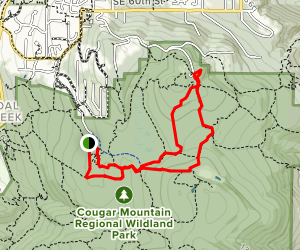 Sky Country to Harvey Manning Loop Map