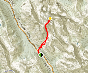 Mount Rae Route Map