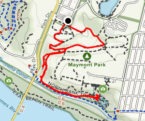 Maymount Park Loop Map