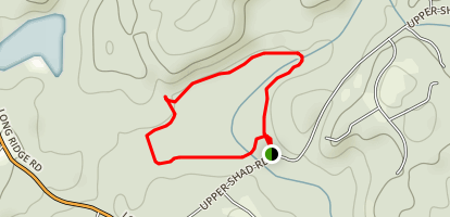 Westchester Wilderness Loop Map