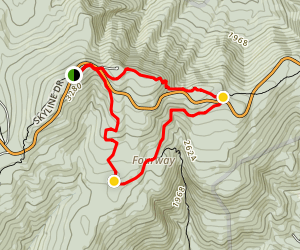 Sugarloaf to Keyser Run to Hogback Mountain Loop Map