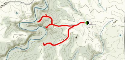 Whitewater Canyon Trail Map