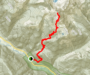 Mount Outram Map