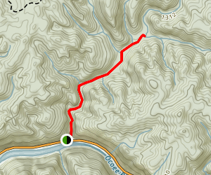 Goforth Creek Trail Map