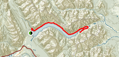 Lake Minnewanka Trail Map
