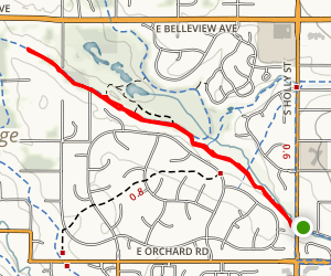 Greenwood Gulch Map