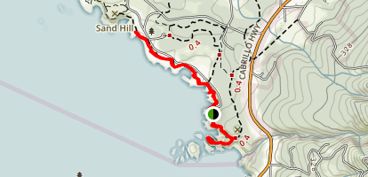 Point Lobos South Shore Trail Map