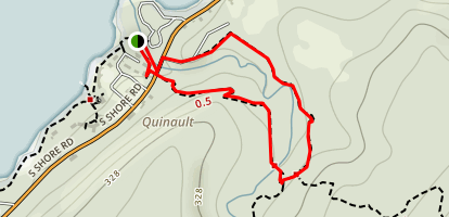 Falls Creek via Quinault Loop Trail Map