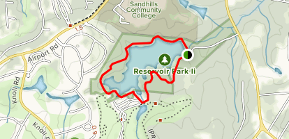 Reservoir Park Map