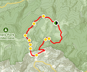 Scales to Wilburn Ridge Loop Map