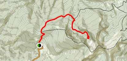Nambe Lake Trail Map