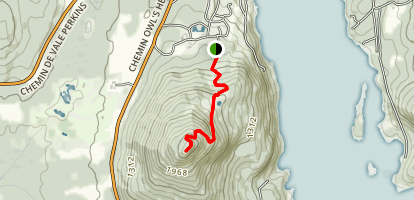 Owl's Head Trail Map