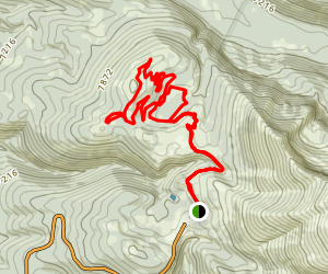 Quakie Ridge Loop Map