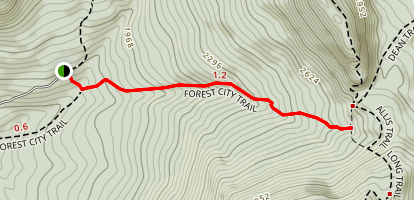 Forest City Trail Map