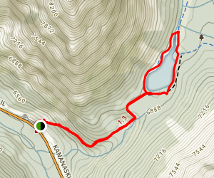 Elbow Lake Loop Map