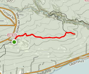 Superior Hiking Trail to Devils Track Lookout Map