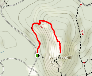 Lone Tree Hill Map