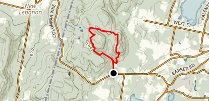Shaker Mountain Map
