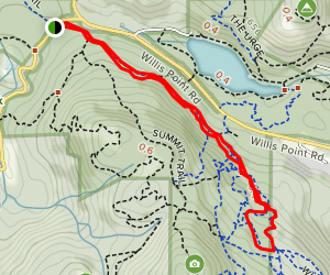 Regional Trail and Trillium Loop Map