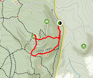 Bicentennial Trail to Pine Hill Trail Loop Map