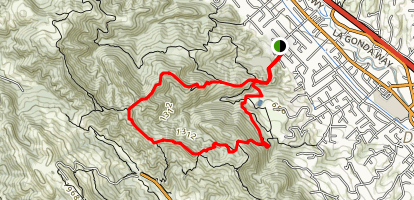 Camille To Sulphur Creek Map