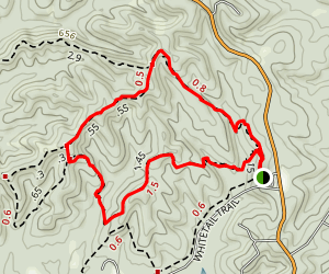 Pate Hollow Short Loop Map