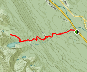 Taylor Lake and Meadow Map