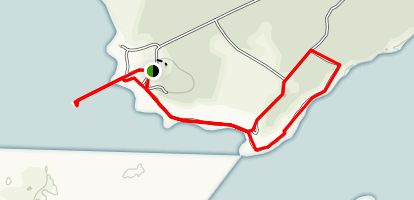 Fort Foster & Kittery Point Shore Trail Map