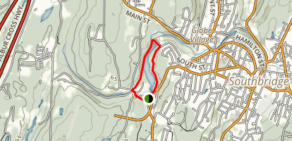 Westville Recreation Lake Loop Map