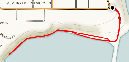 Brookings North Jetty Beach Map