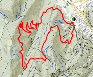 Armstrong, Mid-Mountain and CMG Loop Map