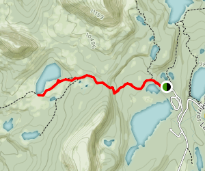 Long Lake Trail Map