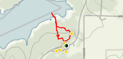 Ray Roberts Lake and Lost Pines Trail Map