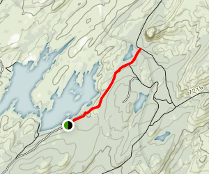 Union Reservoir to Eephant Rock Lake Map