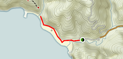 Pfeiffer Beach Map