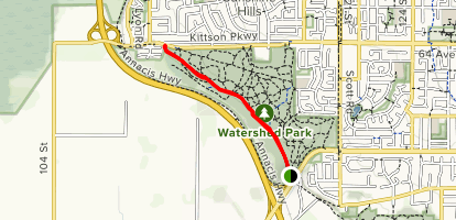 Lower Trail Map