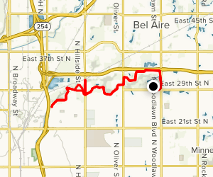 Chisholm Creek Bike Trail Map