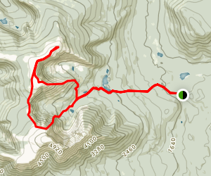 Katahdin North Loop Map