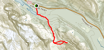 Bow Peak Trail Map