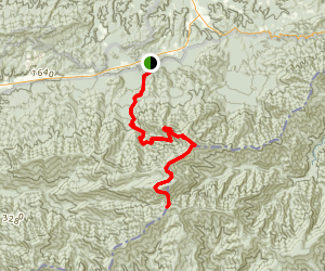 Mount Guyot via Maddron Bald  Map