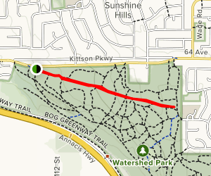 Pinewood Trail Map