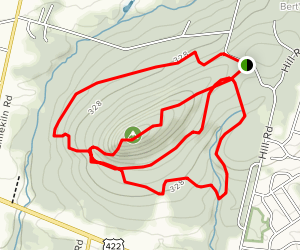 Monocacy Hill Trail Map