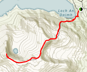 Stuchd an Lochain Path Map