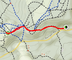 Leith Hill Map