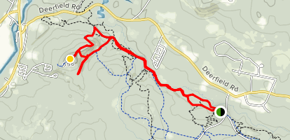 Bear Brook Upper Trail to Camamount Map