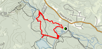 Bear Brook, Carr Ridge and Hayes Farm Loop Map