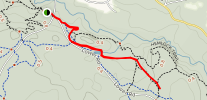 Pitch Pine Trail Map