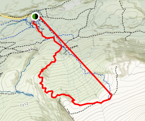 Nevis Range Gondola and Fort William: Red Route Map