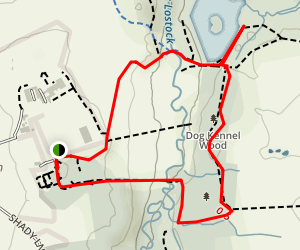 Cuerden Valley Map