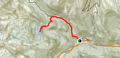 Boss Lake Trail Map